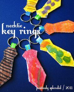 fathers-day-diy tie key chains
