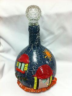 Glass  Sweet Home por OhBelen en Etsy, $35.00