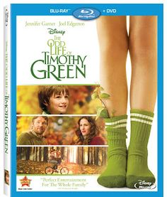 Boobies, Babies, & A Blog: The Odd Life Of Timothy Green Blu-Ray DVD GIVEAWAY