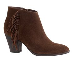 Laine suede fringe boots at J. Crew