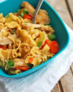 Chicken Soup Noodles