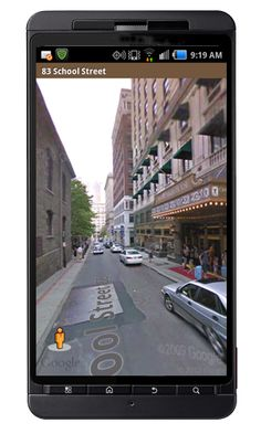 Another screen shot of our free Android App...Street views in Boston! https://play.google.com/store/apps/details?id=mobile.raveis    ...BTW,Please see:  http://artcaffeine.imobileappsys.com