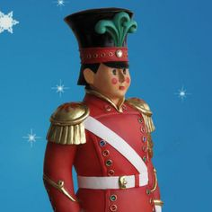 """Rated 5 Stars """"I love the detail in these pieces. I cannot wait to display them this year."""" Customer Review.  Fiberglass Toy Soldier 6 foot-Life Size Toy soldier on guard... http://www.christmasnightinc.com/c55/c149/Fiberglass-Toy-Soldier-6-foot-p625.html $769.00"""