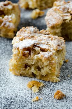 Cinnamon Apple Crumb Bars are satisfaction guaranteed because these are tried several times! Easy to whip up for breakfast or afternoon tea! | giverecipe.com | #apple #bars #applebars #baking #fallrecipes #applecrumb #dessert #sweet