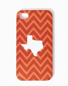 Chevron Texas iPhone 4/4s Case | UPC: 410007051736 #charmingcharlie #COTM