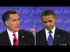 The Debate in Body Language - To think this guy represents our country with world leaders... time to vote in a real President!