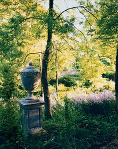Edwardian water garden