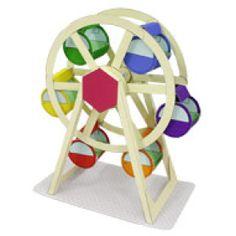 Amusement Park(Ferris wheel) - Craftown - Paper CraftCanon CREATIVE PARK