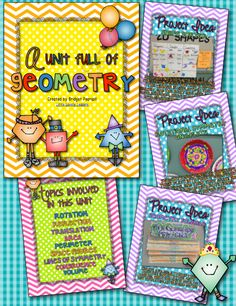 53 page unit full of geometry activities, project ideas, and assessments!