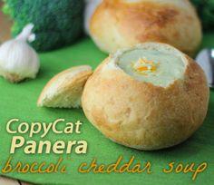CopyCat Broccoli Cheddar Soup From Panera Bread