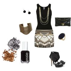 girls night out, created by lcbsjb on Polyvore