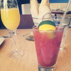 Harissa water Bloody Mary at Zaytinya!