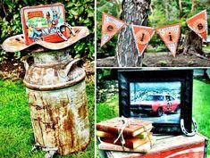 Dukes of Hazzard themed birthday party via Kara's Party Ideas karaspartyideas.com #dukes #hazzard #party #ideas