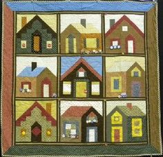 2010-2011 Urban-Amish Townhomes BOM Quilt