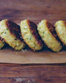 Little Quinoa Patties - Whole Living Eat Well