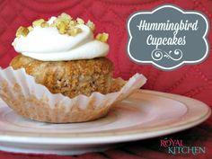 Hummingbird Cupcakes #recipes #cupcakes #dessert