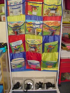 Nice! This is a good way for me to have books on tape for the kids to choose from!