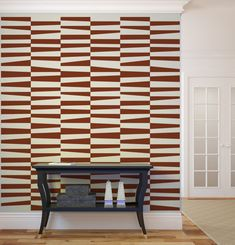 Wall Decal Geometric Stripes Trapezoid by WallStarGraphics on Etsy, $195.00