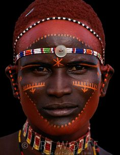 Africa   Samburu Tribesman, Kenya   © Art Wolfe