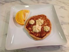 An Organic Wife: Recipe: Orange Buttermilk Pancakes with Honey Buttercream