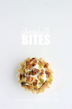 cheeseball bites!
