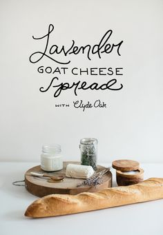 Lavender Goat Cheese Spread with Clyde Oak  |  The Fresh Exchange