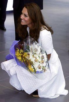 Kate Middleton Photos - The Duke And Duchess Of Cambridge Diamond Jubilee Tour - Day 2 - Zimbio