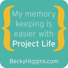 memori, becki higgin, happy birthdays, 6 months, scrapbookingcraft idea, project life, bh3, rock, birthday celebrations