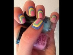 Check this makeup video out -- Easy nail art for beginners short or long nails on MakeupBee
