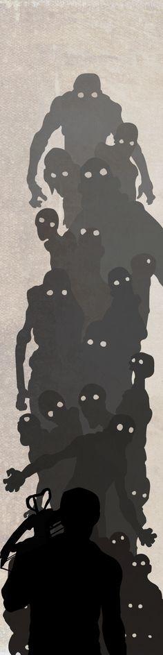 zombieapocolyps zombiewalk, vans, walking dead illustration, art, oakley sunglasses, twd poster, walk dead, the walking dead daryl dixon, dead zombi