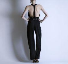 jumpsuit luxuri, black jumpsuit