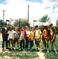 The Sandlot.   This movie defines my childhood.