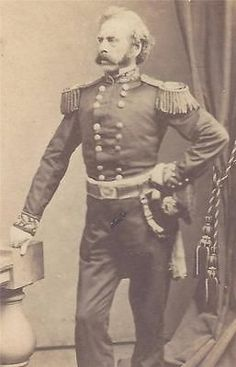 SIGNED-Ca-1860s-CIVIL-WAR-CDV-MASSACHUSETTS-BRIGADIER-GENERAL-SAMUEL-ANDREWS.Samuel Andrews was a Brigadier-General, commanding 1st Brigade Massachusetts volunteer Militia in the Civil War.