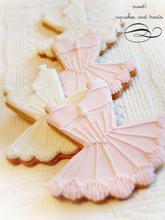 party dress cookies...