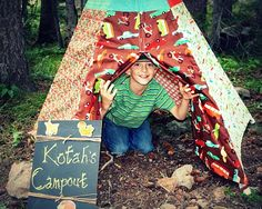 birthday presents, camp parti, camping birthday, camp party, campout parti, parti idea, happy campers, kid, themed parties