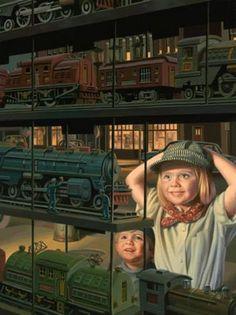 The Train Shop Window ~ Bob Byerley