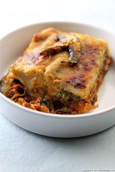Mushroom Lasagna Recipe Recipe