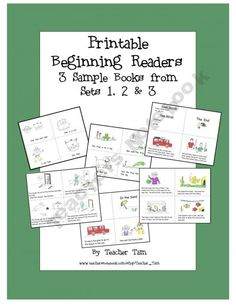 3 FREE printable guided reading books