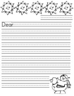 cute stationery for work on writing