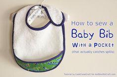 Baby Bib with Pocket1