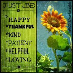 And grateful