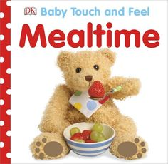 It's a bit basic and wish it had more of a selection of different types of foods, but for basic, apple, pasta, plate, fork stuff it's a cute book:) we read this again today before dinner time. Baby Touch and Feel: Mealtime by DK Publishing http://www.amazon.com/dp/146540161X/ref=cm_sw_r_pi_dp_9uG0rb0ZK7GSSXFC