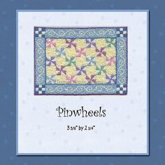Hey, I found this really awesome Etsy listing at https://www.etsy.com/listing/151991061/pinwheels-miniature-knotwork-kit