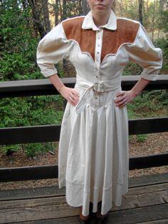 80's Vintage Karen Alexander Dress - One of a Kind