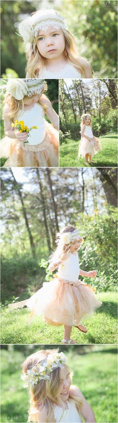 Knoxville Children's Photographer | Enchanted Styled Photo Session for Girls | Kids Photography Ideas | Sarah C. Photography