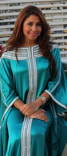 green abaya/caftan