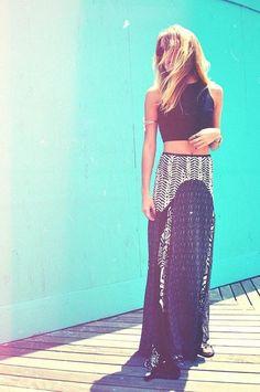 Maxi skirt lovin