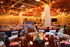 Barn wedding at Tanaka Farms