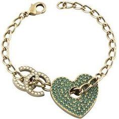 chanel gold bracelet