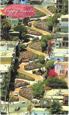 Lombard street, San Fransisco. One of my favorite places